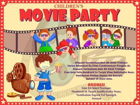 Poster voor Kinderen Filmfestival feestavond