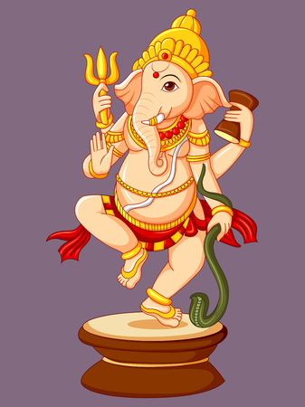 Statue of Indian Lord Ganesha Sculpture