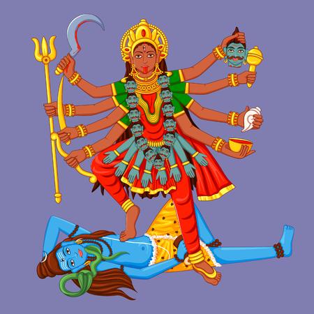 Statue of Indian Goddess Maa Kali Sculpture