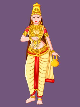Statue of Indian Goddess Brahmacharini Sculpture