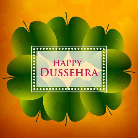 Happy Dussehra Navratri celebration India holiday background Stock Photo
