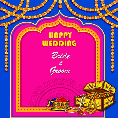 Indian Wedding ceremony Invitation card
