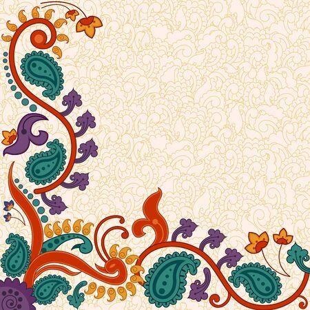 floral background for presentation banner poster template 일러스트