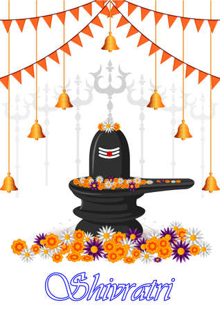 Lord Shiva on Maha Shivratri religious festival of India 免版税图像 - 165518918