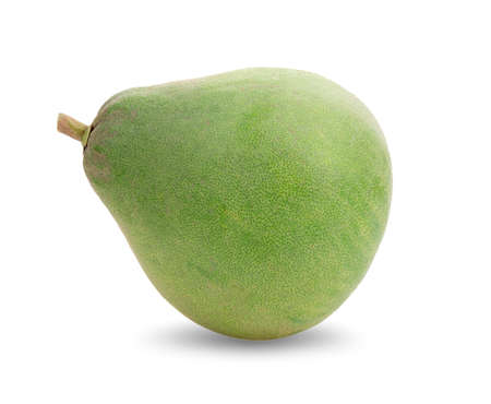 Fresh of pomelo fruit isolated on white background