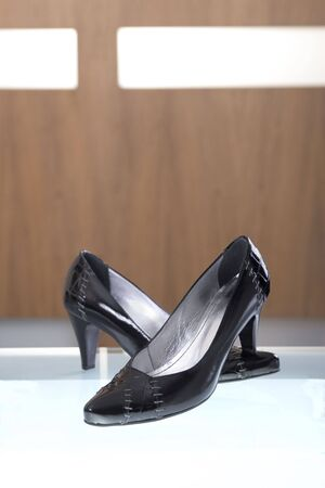 Shot of elegant pair of shoes Stock Photo - 3574549