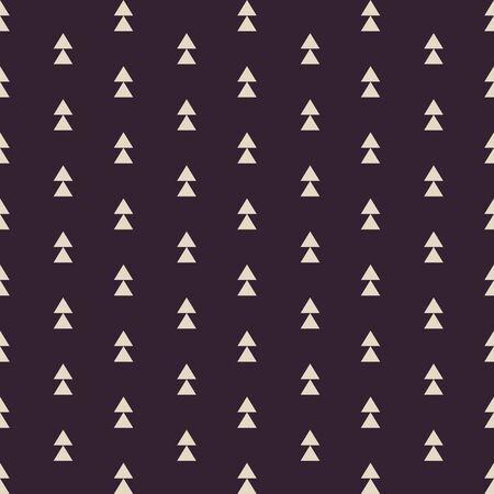 Vector stammen geïnspireerd naadloos geometrisch patroon met stijl van de driehoeken de uitstekende kleur