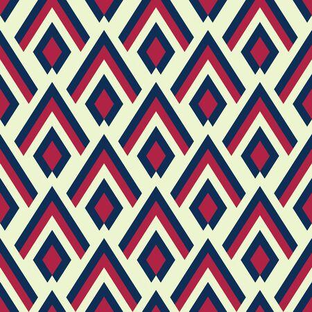 geometrisch diamanttegel minimaal grafisch vectorpatroon de VS patroon