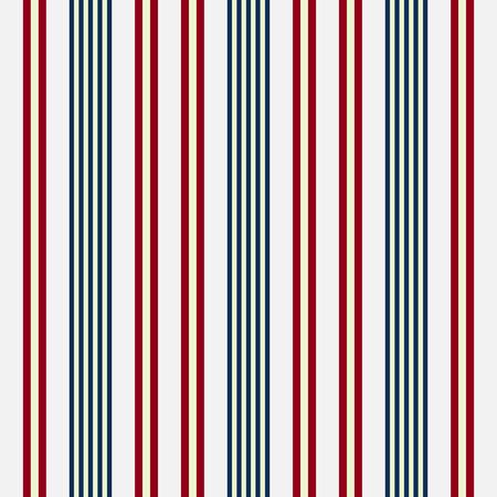 weefsel usa kleur stijl naadloze strepen patroon. Abstract vector achtergrond Stock Illustratie