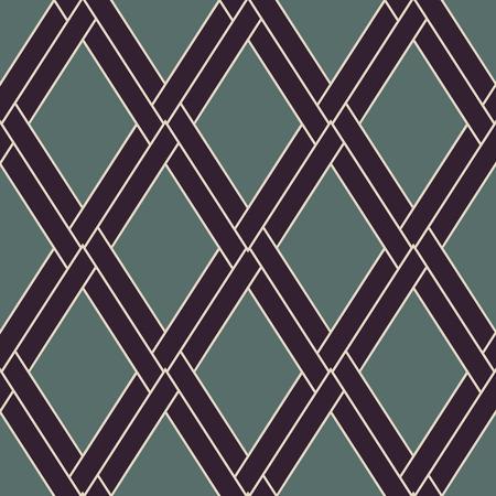 Vintage kleur mode-stijl. Vector naadloos patroon. Moderne stijlvolle textuur. Herhalende geometrische achtergrond. Gestreept zeshoekig raster. Lineair grafisch ontwerp. Stock Illustratie