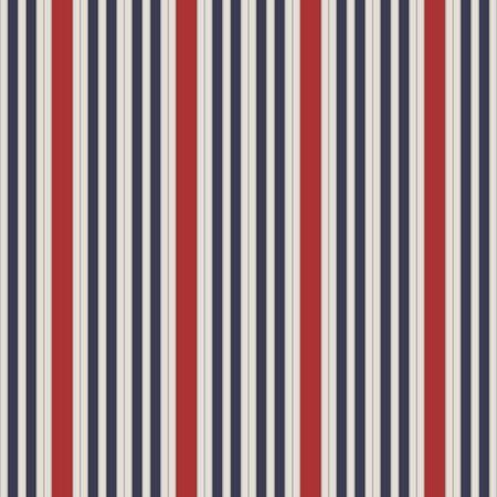 Retro patroon van de stijl naadloos de strepen van de VS. Stock Illustratie