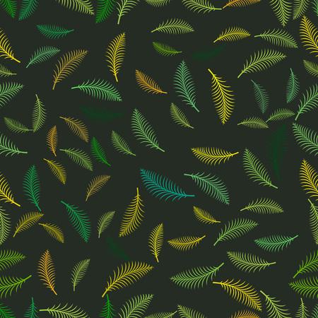 Zomer tropische palm verlaat naadloze patroon.
