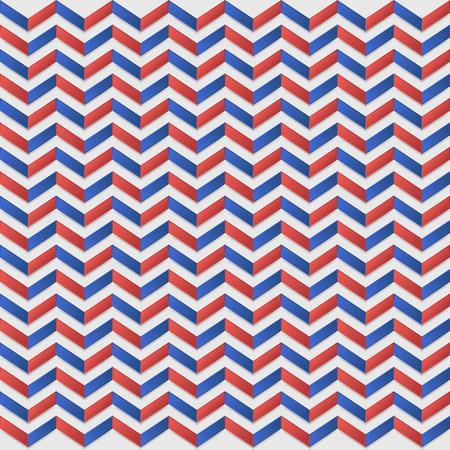 Geometrisch naadloos patroon met zigzag.
