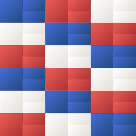 Manierdocument van de textuurkubussen geometrisch patroonontwerp. Stock Illustratie