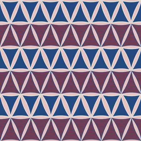 Geometrische tegels van driehoeken.