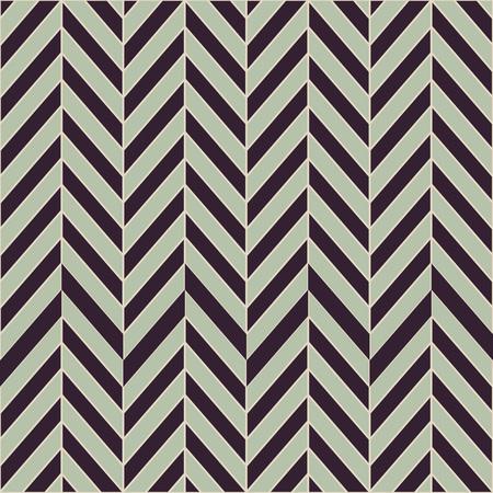 groene vintage kleurstijl Naadloos geometrisch patroon. Zigzag strepen. Vector grafische textuur