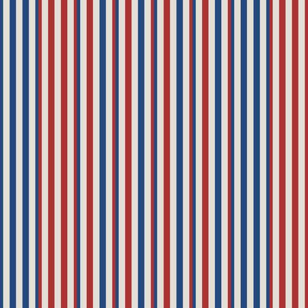 retro-usa Kleurstijl naadloze strepen patroon. Abstract vector achtergrond.