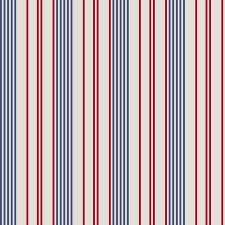 Naadloze textuur van de VS kleur fashion stijl met geometrische sier patroon. Stock Illustratie