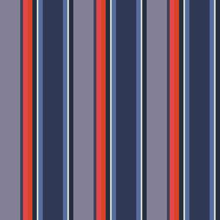 usa color style red and blue striped background on the cover and fabric   Stock Illustratie