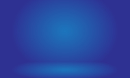 Blue room in the 3d. Background Ilustrace