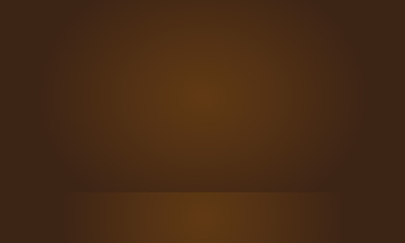 Abstract brown gradient well used as background for product display. Illustration