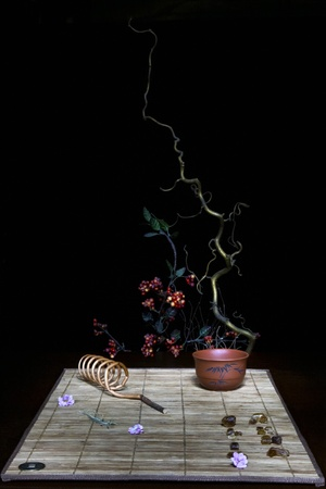fengshui: Still life in chinese feng-shui style Stock Photo