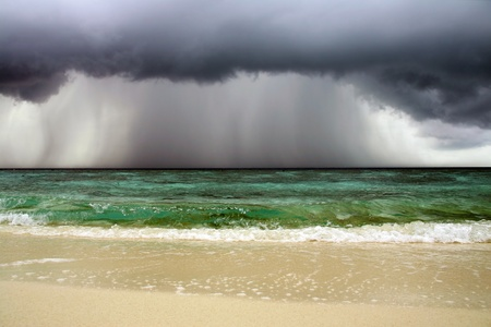 Before ocean storm - seascape Stock Photo