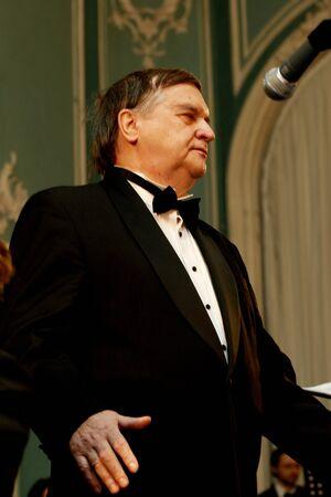 the tenor: Yuri Marusin - world famos opera singer, tenor Editorial