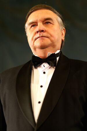 Yuri Marusin - world famos opera singer ,tenor, in concert in st Petersburg,05 12 2012  Stock Photo - 16919391