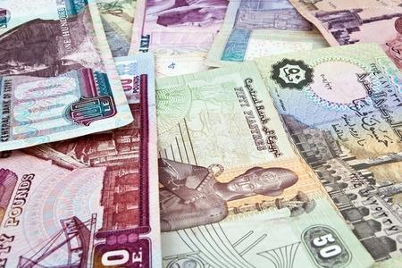 pounds money: Las billetes libras de Egipto. Dinero egipcio