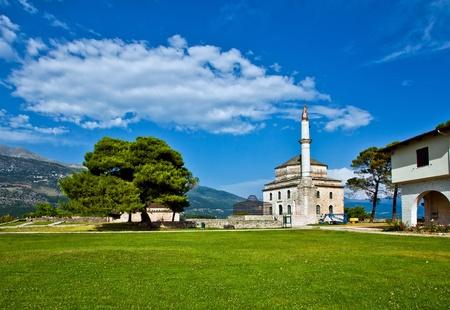 그리스, 알리 파샤 섬에있는 이오 아니나의 전망