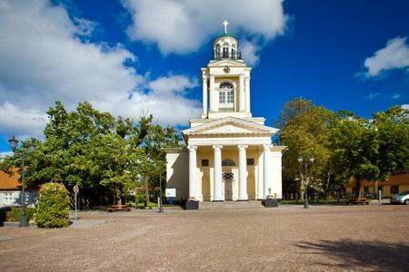 lutheran: Evangelical Lutheran Nikolay�s Church in Ventspils, Latvia