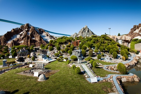 리미니, 이탈리아에서 miniatura 공원 이탈리아
