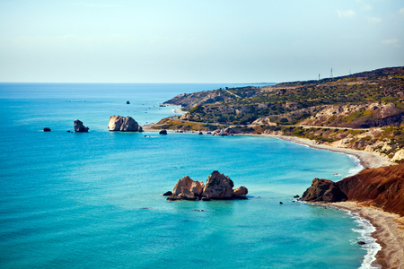 Aphrodites legendary birthplace in Paphos, Cyprus.