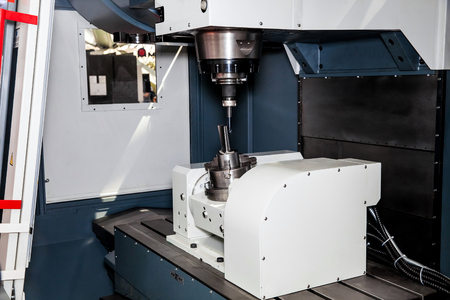 metal processing: Milling machining centers CNC for metal processing