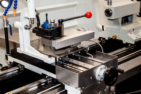 processing speed: Conventional Precision Lathe machine with servo drive - easy to operate, more reliable, more precise, for higher loads and reduced maintenance