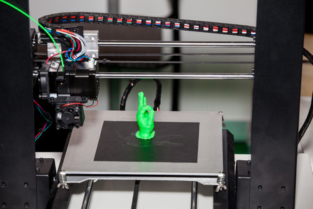 Arbeiten 3D-Drucker