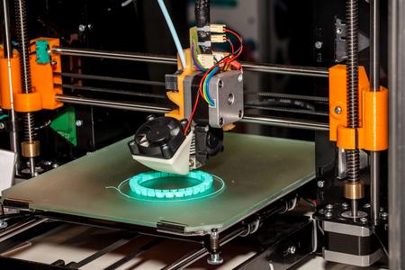 imprenta: Trabajar 3d impresora