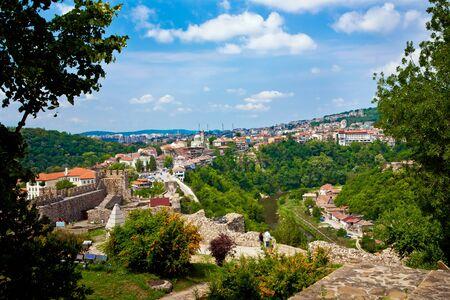 veliko: Old town Veliko Tarnovo in Bulgaria Stock Photo