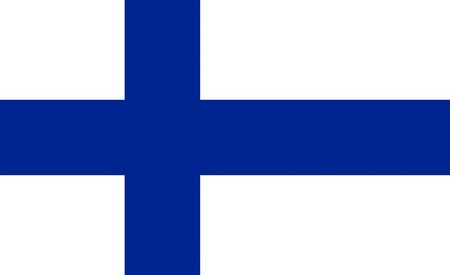 Official flag of Finland country