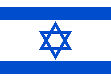 flag background: Official flag of Israel country