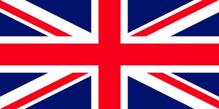 bandera uk: bandera oficial de Gran Bretaña país
