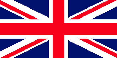 great: Official flag of Great Britain country Stock Photo