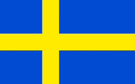 country: Official flag of Sweden country