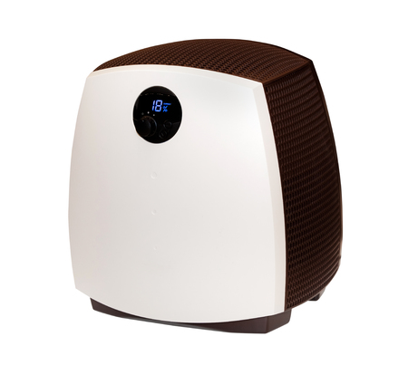 humidifier: Modern humidifier isolated on the white background