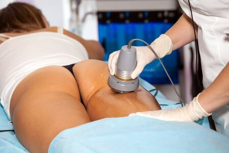 advances: Body treatment device using the latest and finest technological advances. Working together in synergy to target all cellulite related problems, body remodeling and drainage needs.