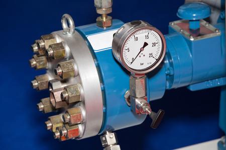 manometer: Pipe manometer view for the pressure measurment