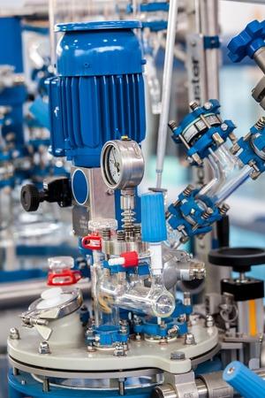 Grundglasreaktorsystem für Pilotanlagen Standard-Bild