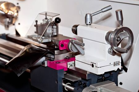 vibration machine: Conventional Precision Lathe machine with servo drive - easy to operate, more reliable, more precise, for higher loads and reduced maintenance