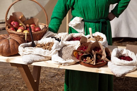 ancient times: Reconstruction of ancient times. Selling on product market
